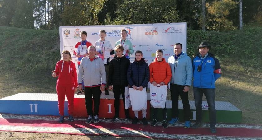Воспитанник школы «Перекоп» привез золотую медаль с первенства России по летнему биатлону