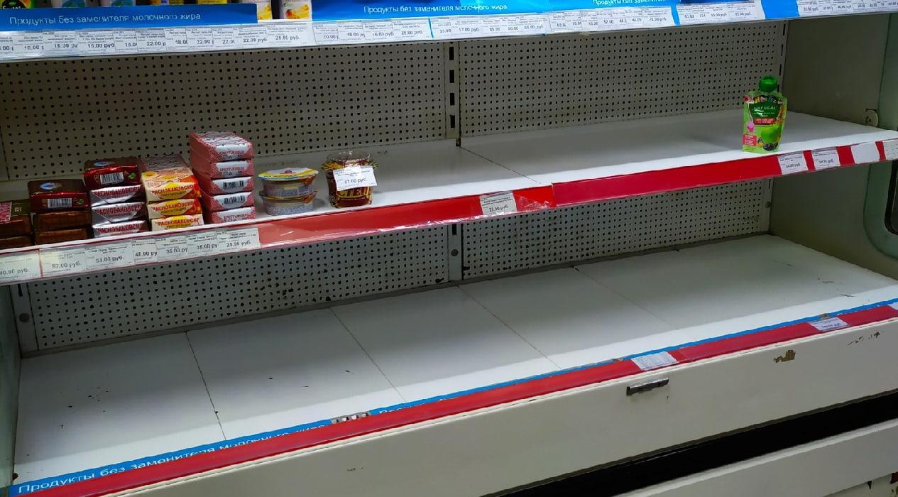 Из-за паводка жители Каринторфа столкнулись с дефицитом продуктов