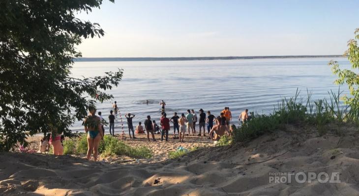 На чепецком пляже, где утонул школьник, купаться запрещено