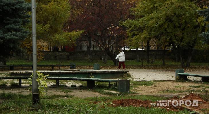 Велодорожки, тренажеры и каток: в микрорайоне Чепецка появится обновленный парк