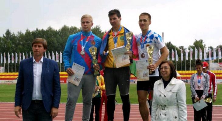Никита Нассонов из Чепецка занял первое место на спартакиаде школьников России