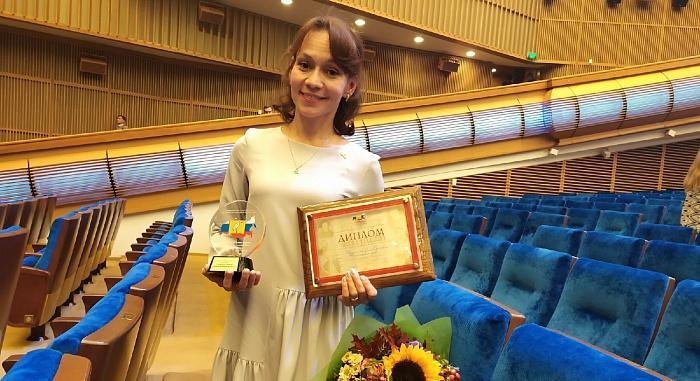 Педагога из Кирово-Чепецка наградили на сцене Кремлевского дворца