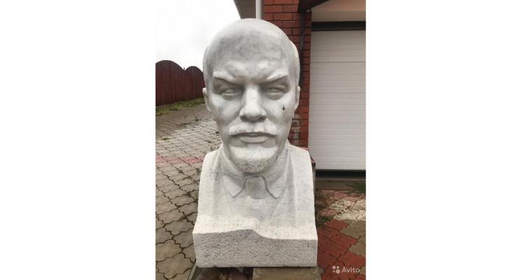 Чепчанин продает бюст Ленина за миллион рублей