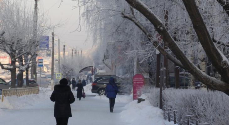 -10°С и снежный покров до 12 сантиметров: прогноз погоды в Кирово-Чепецке с 14 по 20 октября