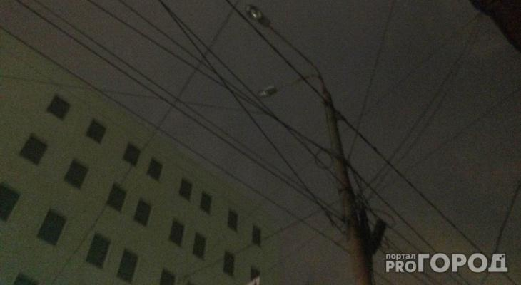Чепчан предупреждают об очередном отключении электроэнергии