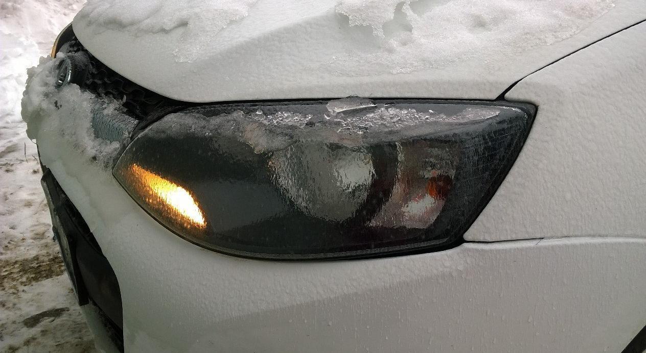 В Кировской области пройдет сильный ледяной дождь