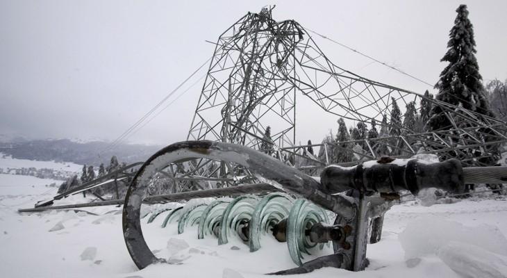 В Кирово-Чепецке 6 деревень остались без света из-за аварии
