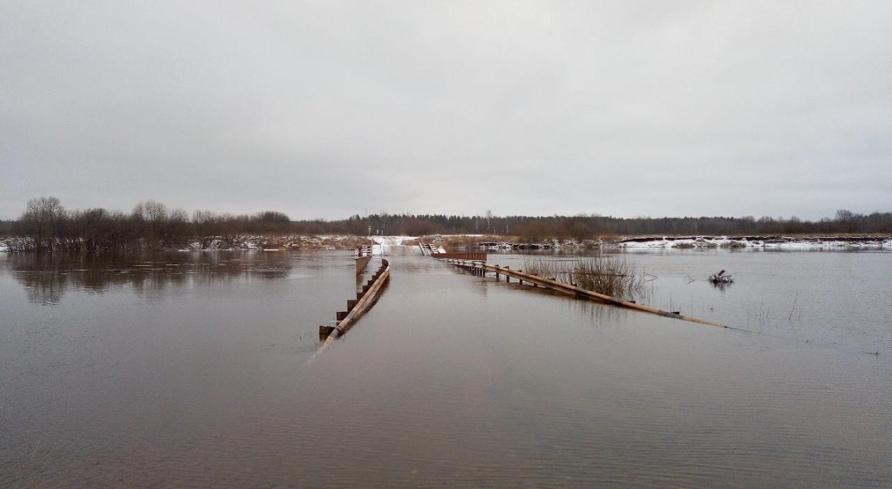 Фото дня: как выглядит мост в Каринторфе после ледяного дождя