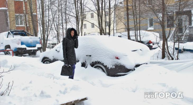 В выходные Кирово-Чепецк накроет снегопад
