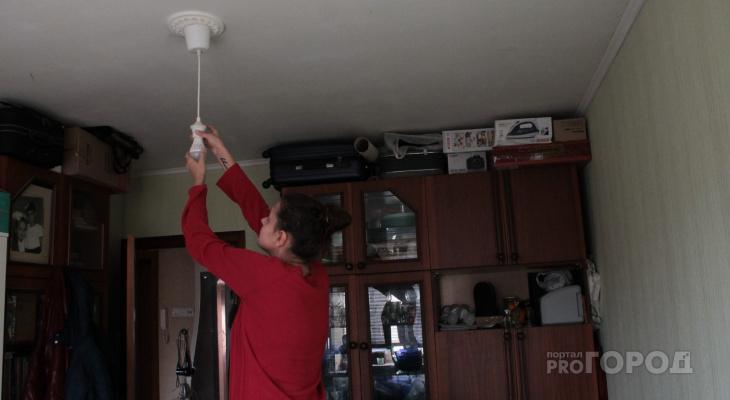 В Кирово-Чепецке из-за аварии десятки домов остались без электричества