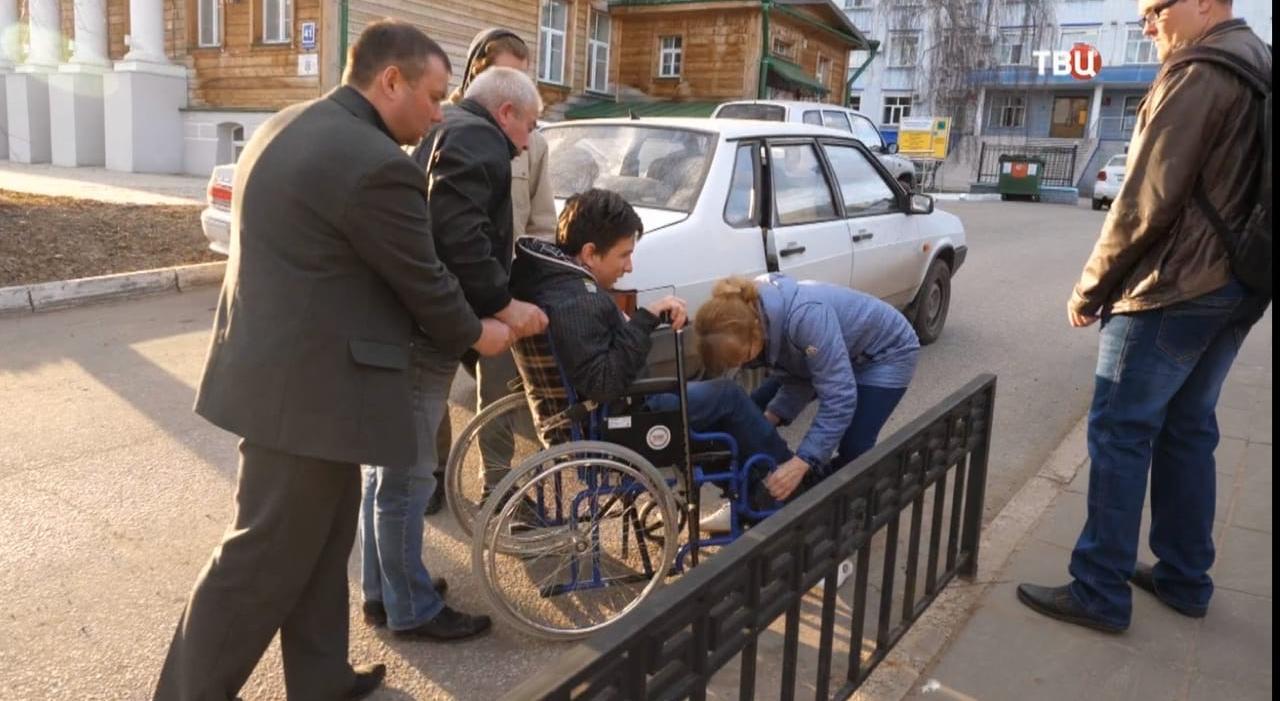Историю инвалида из Чепецка рассказали на федеральном канале