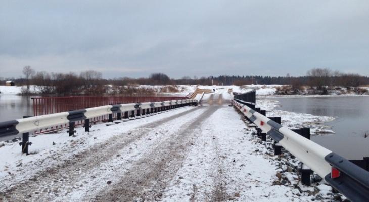 Проверка слухов: в Кирово-Чепецке закрывают движение через понтонный мост