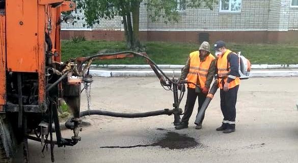 В Кирово-Чепецке начали ямочный ремонт: список улиц