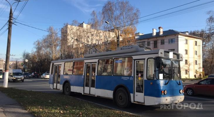 Из Кирова в Чепецк планируют пустить троллейбусы по третьему мосту через Вятку
