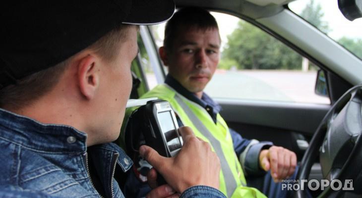 В Чепецке водителей будут массово проверять на опьянение