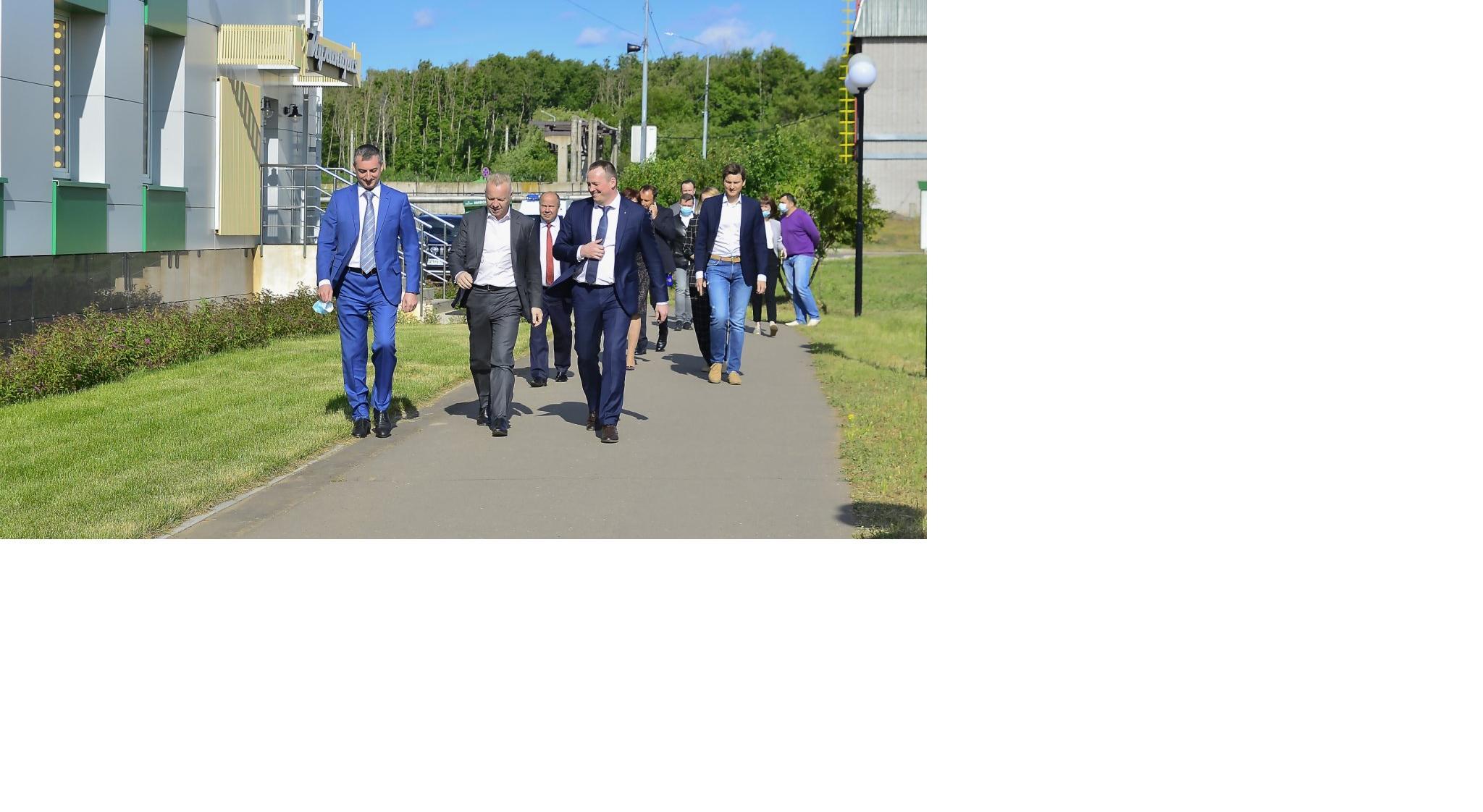 Дмитрий Мазепин посетил филиал «КЧХК»
