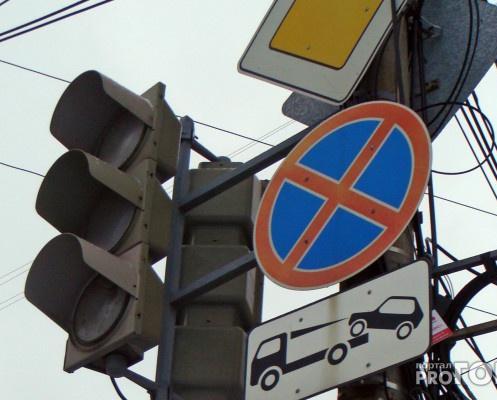 В Кирово-Чепецке на неделю отключили светофор