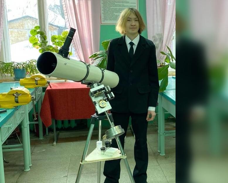 «Меня вела цель насладиться видами звездного неба»: юный чепчанин о создании телескопа