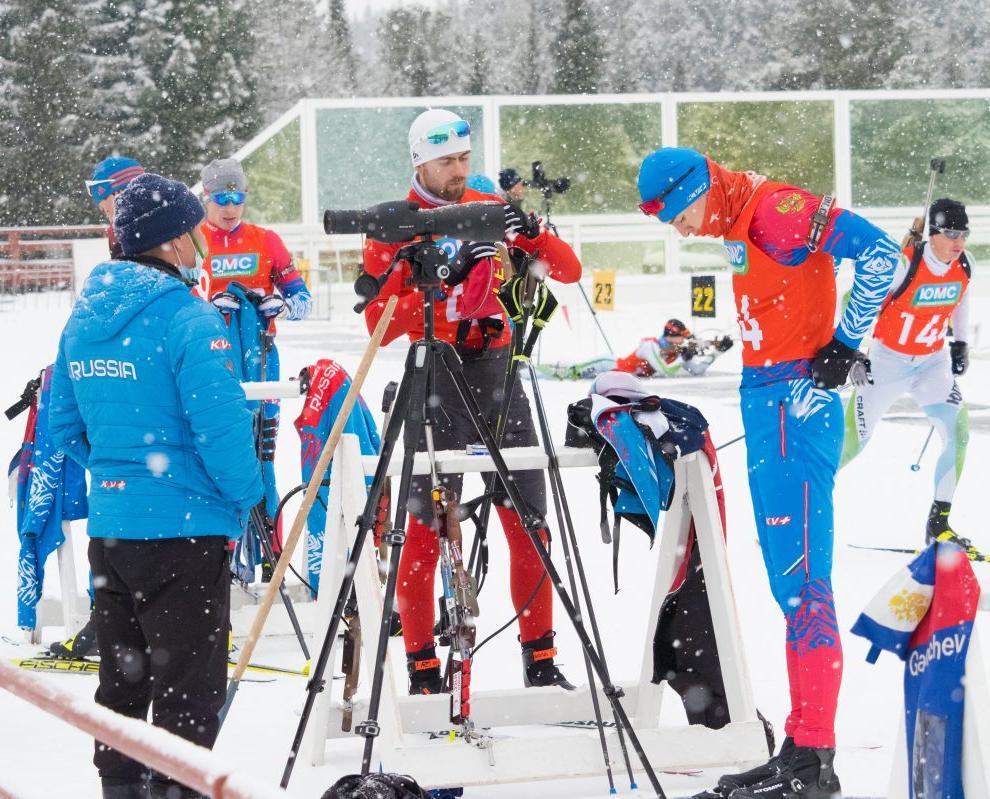 В «Перекопе» стартовало первенство России по лыжным гонкам