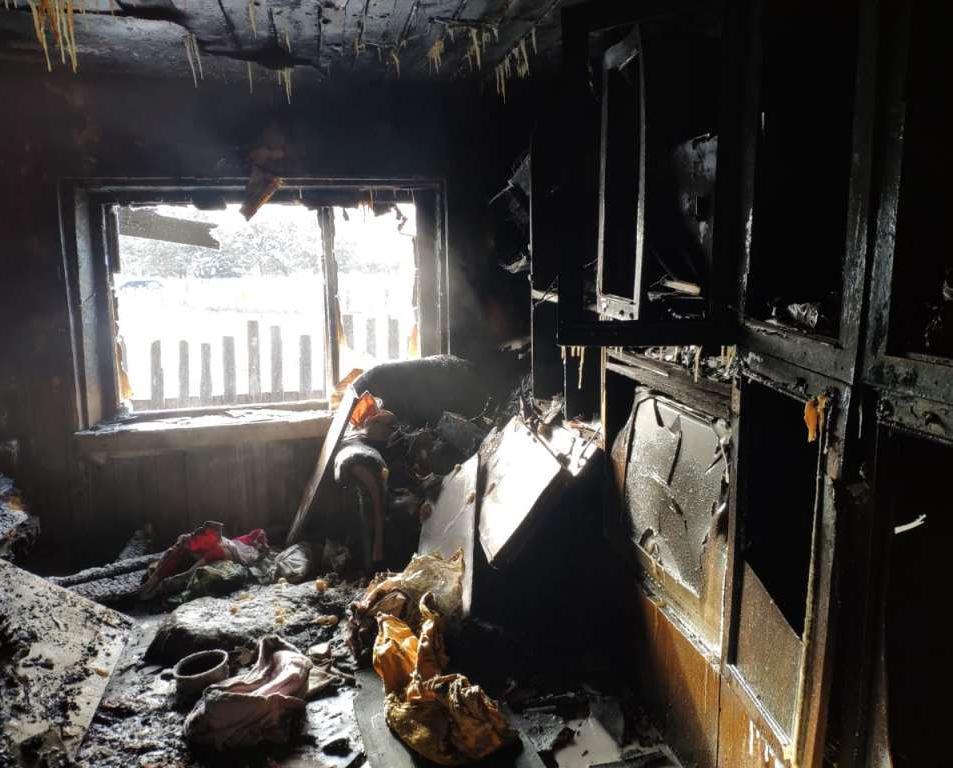 В Кирово-Чепецком районе загорелась квартира семьи с 5 детьми