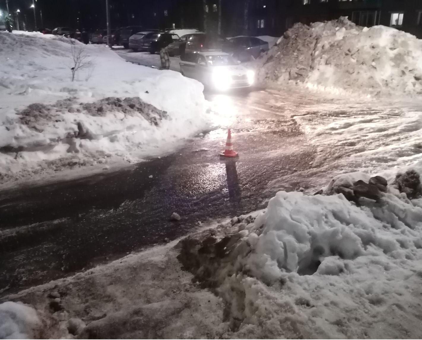 В Чепецке водитель ВАЗа сбил женщину и скрылся: пенсионерка в больнице