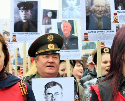 В Чепецке начался прием заявок на изготовление плакатов к Бессмертному полку