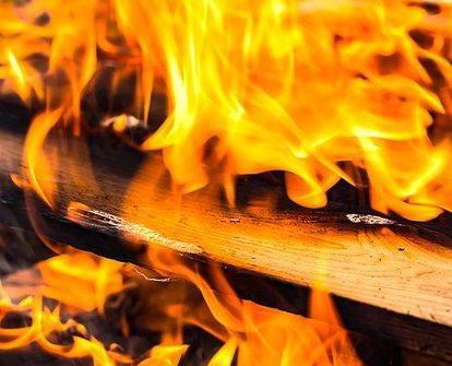 В Кирово-Чепецком районе произошел пожар в бане