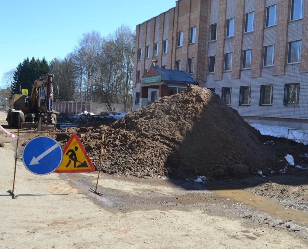 В Кирово-Чепецке заменят трубы после разлива воды на узкоколейке
