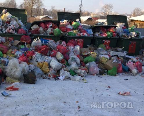 ОНФ: вывозить мусор в Кирово-Чепецком районе начнут не раньше конца января