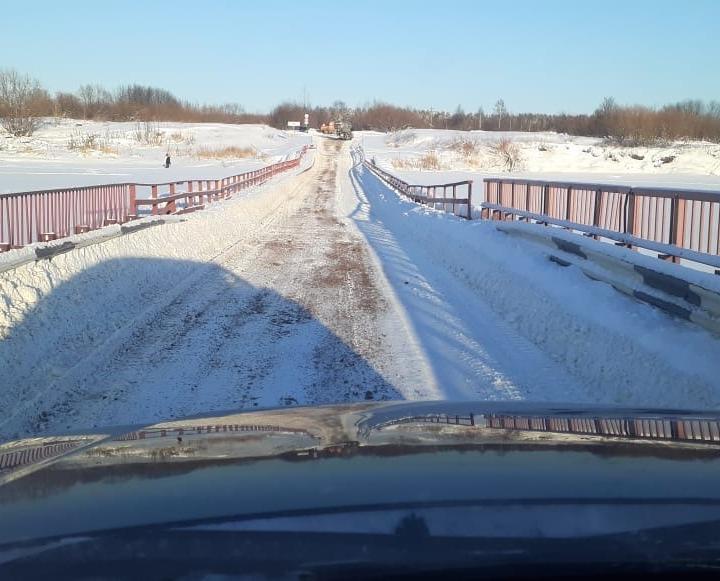 В администрации Кирово-Чепецка сообщили о закрытии моста в Каринторф