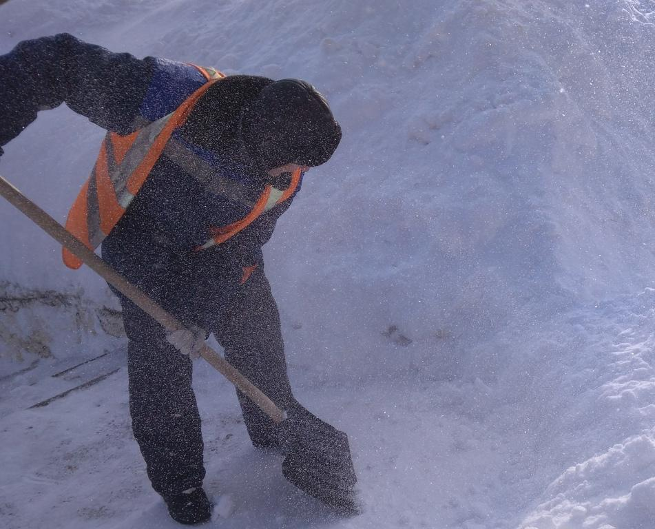 Последствия снегопада в Кирово-Чепецке будут убирать 5 дней