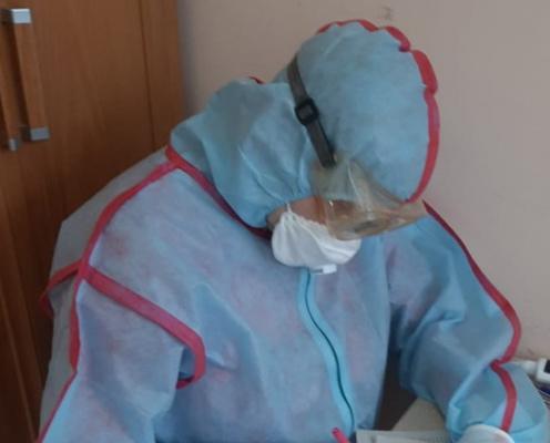 Известно, сколько чепчан заразились коронавирусом за сутки