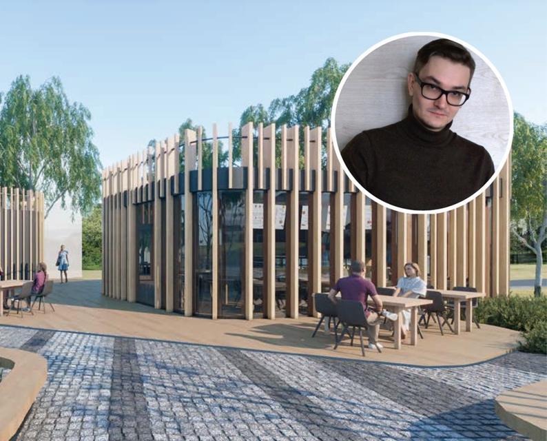 «Очень приятно и современно»: архитектор о дизайн-проекте сквера «Река времени»
