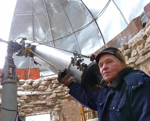 В Кировской области пенсионер создал настоящую обсерваторию
