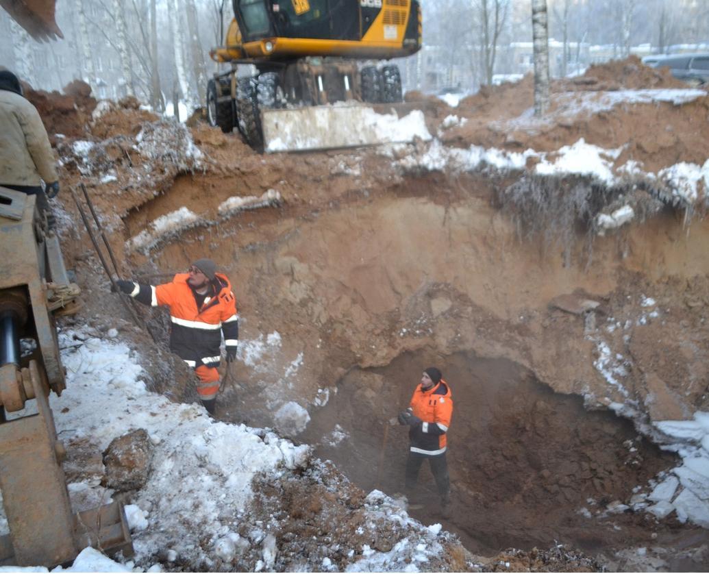 В Кирово-Чепецке произошла авария: без воды остались десятки горожан