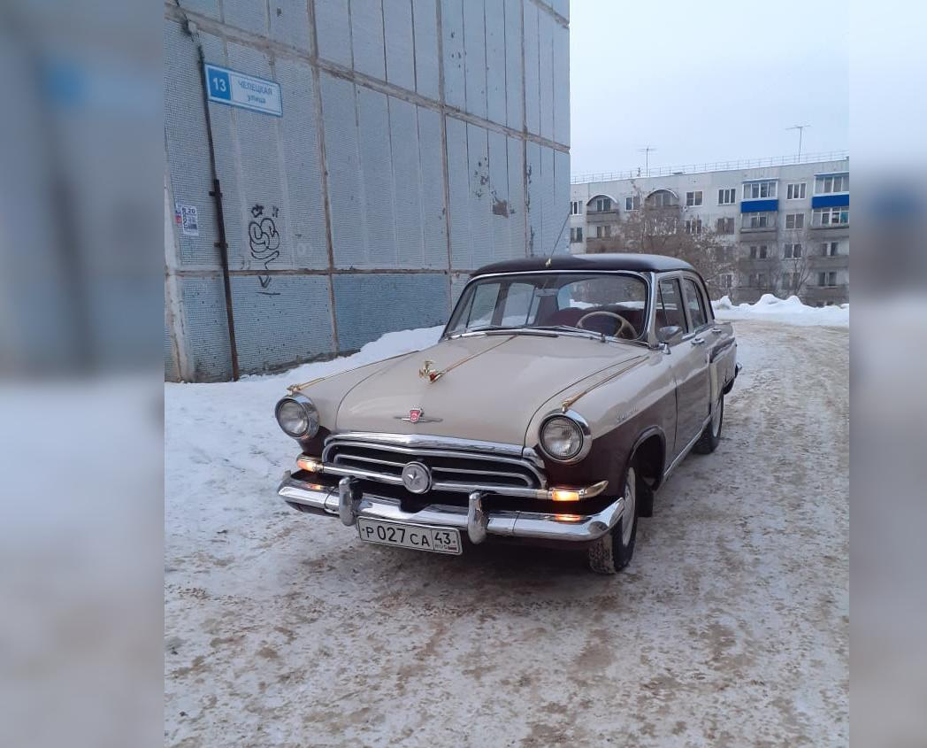 Житель Кирово-Чепецка коллекционирует ретро-автомобили