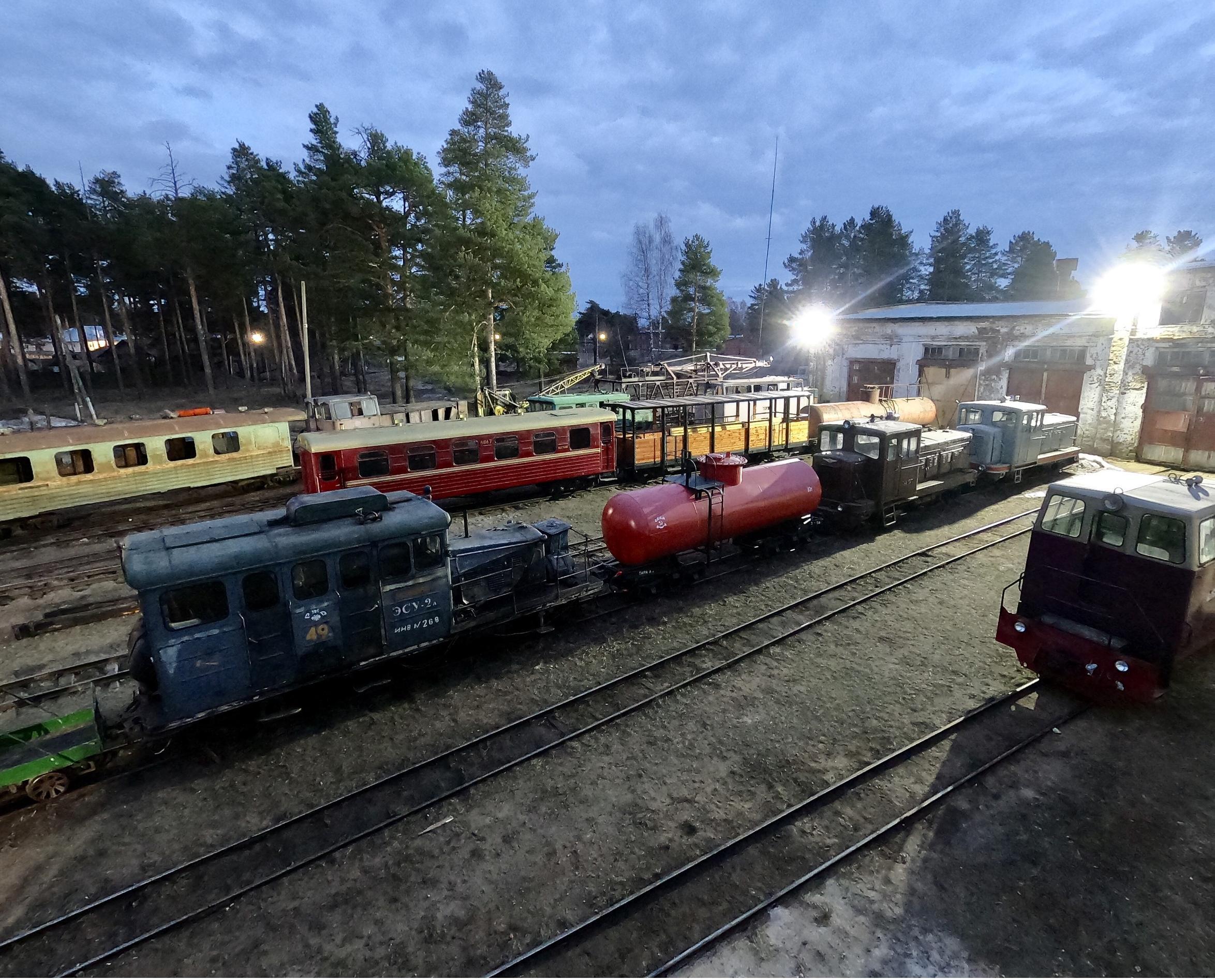 Впервые в истории Музей железной дороги будет принимать посетителей ночью