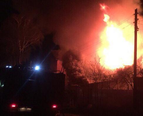 В Чепецком районе от разрядов молний начались 2 пожара