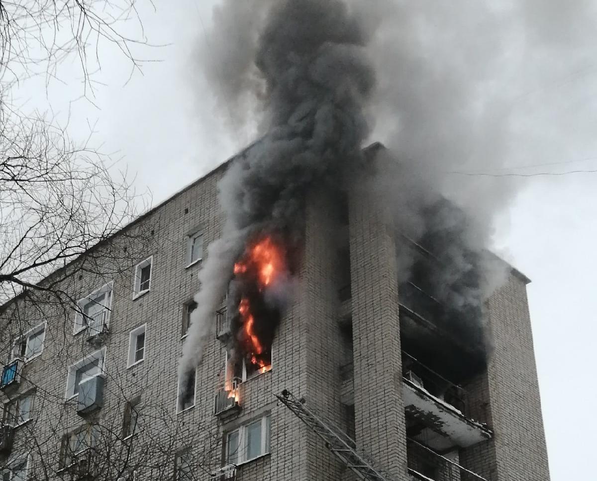 По факту пожара в малосемейке на Ленина могут возбудить уголовное дело