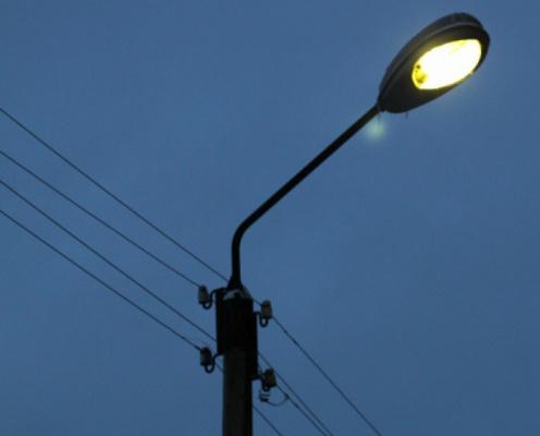 На двух улицах Чепецка до конца июня отключат уличное освещение