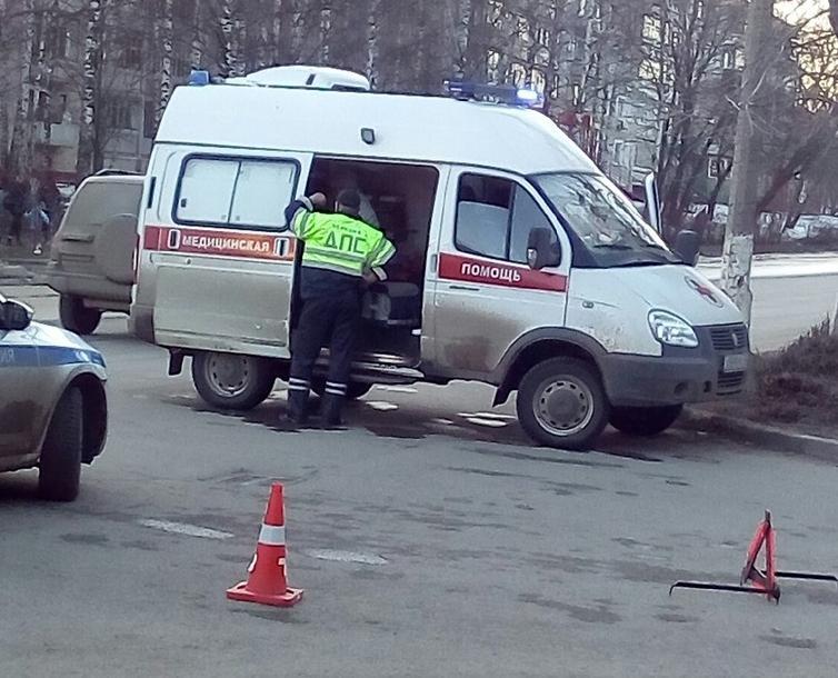 Очевидцы: в Кирово-Чепецке сбили ребенка на велосипеде