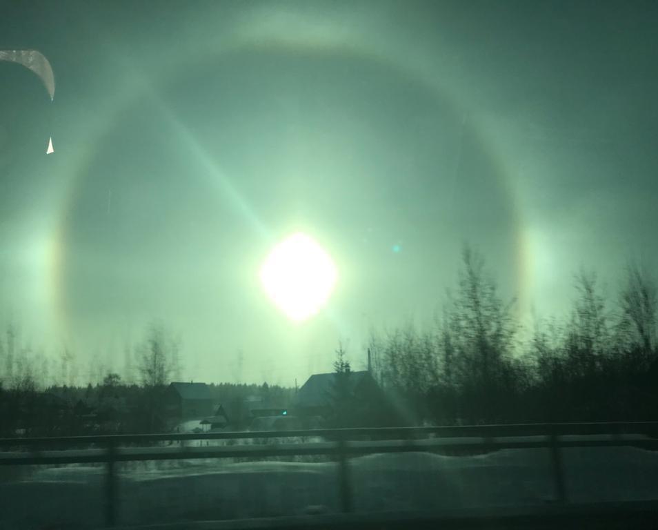Фотоподборка: жители Кирово-Чепецка заметили уникальное природное явление