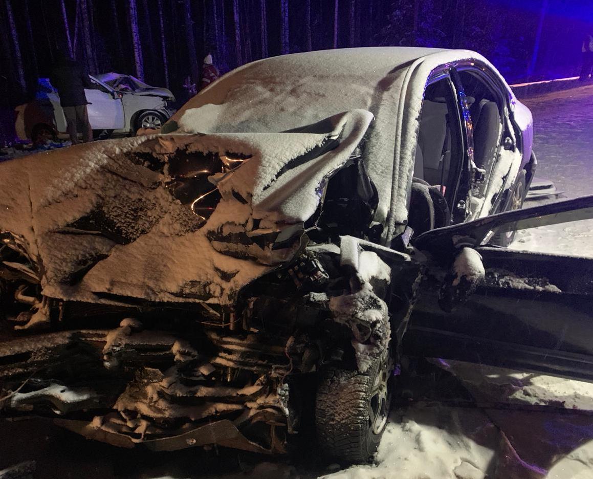 В Кирово-Чепецком районе произошло массовое ДТП: три человека погибли