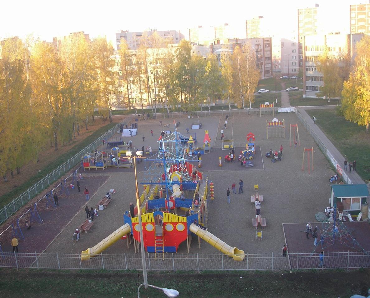 В Кирово-Чепецке отремонтируют площадку «Летучий корабль» на 15 200 000 рублей