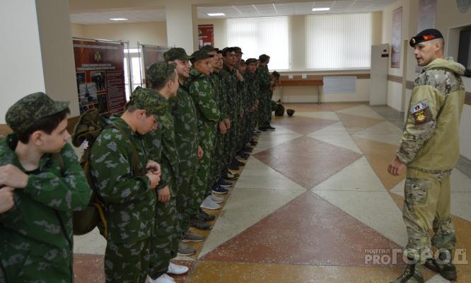 Известно, сколько молодых людей из Кировской области отправятся служить