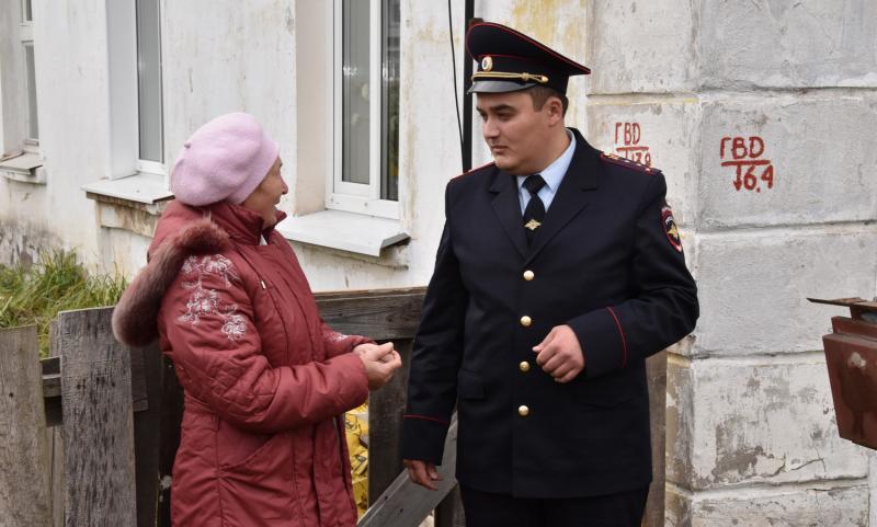 Полицейский из Чепецка может стать лучшим участковым страны