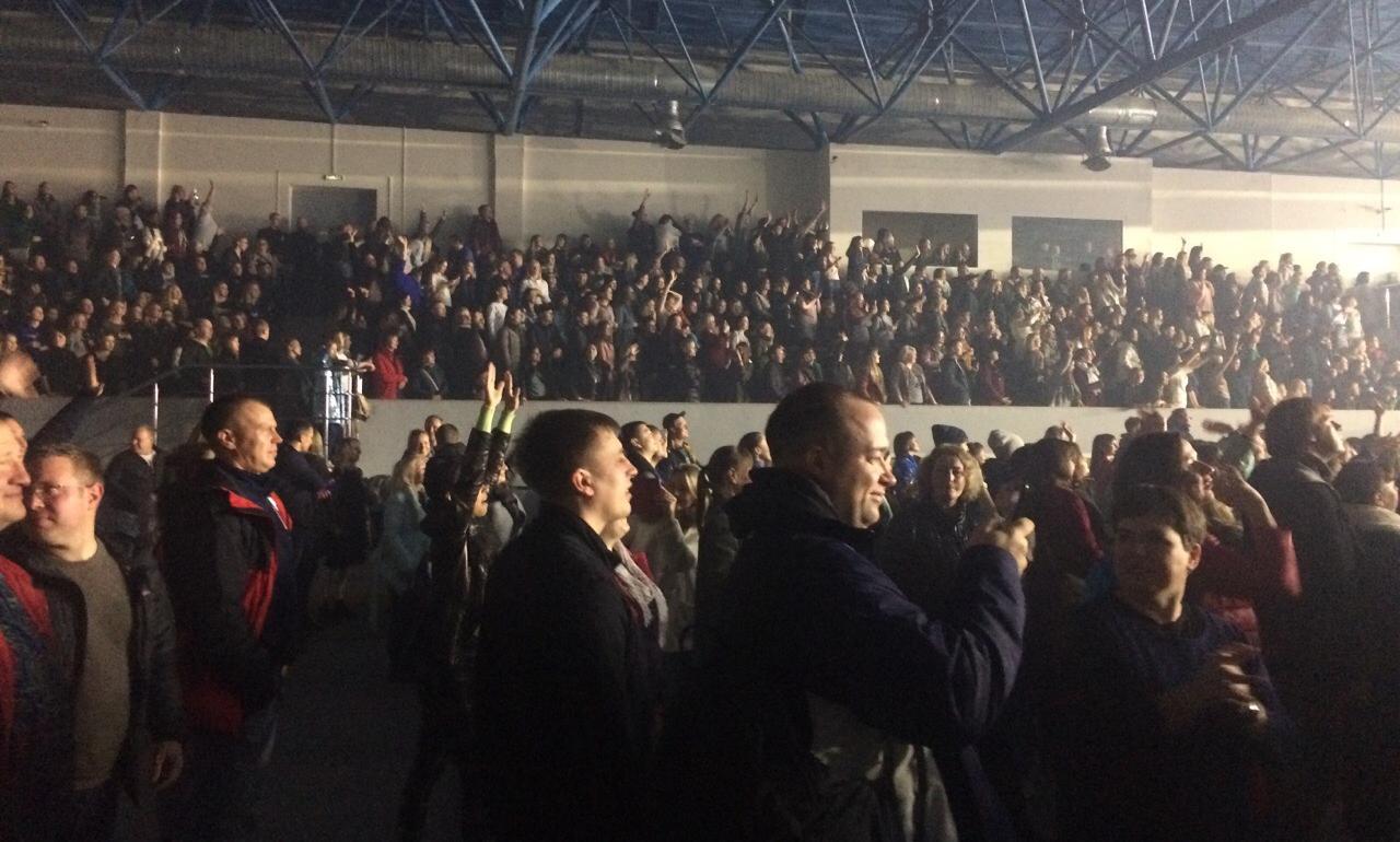 Концерт «Руки Вверх» в «Олимп-Арене» стал самым масштабным в области