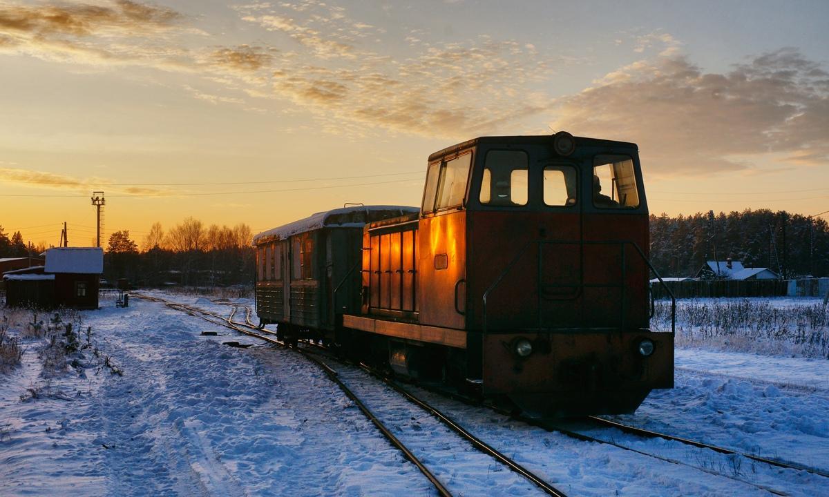 С зимы изменится расписание поездов на узкоколейке