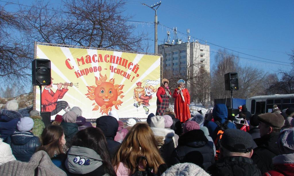 Веселая заваруха и молодецкие забавы: программа на Масленицу в Чепецке