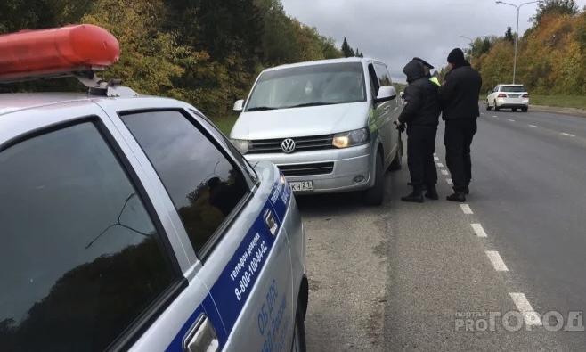 В Кирово-Чепецке у должников по штрафам отобрали 6 автомобилей